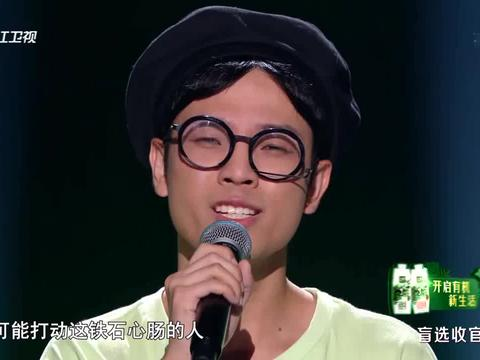 好声音:苏伟的声音和吴青峰的有一点像啊,干净清爽的感觉
