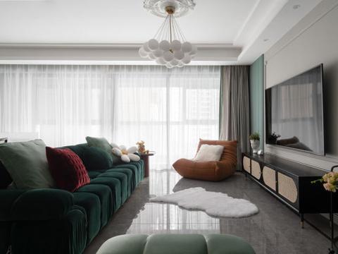 140平米四居室,把温柔和浪漫藏在生活里