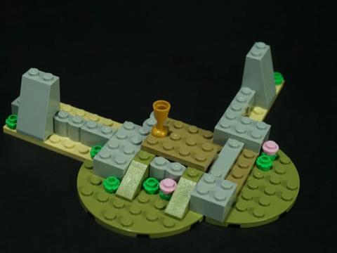 又见城头飘彩旗 LEGO31120中世纪城堡