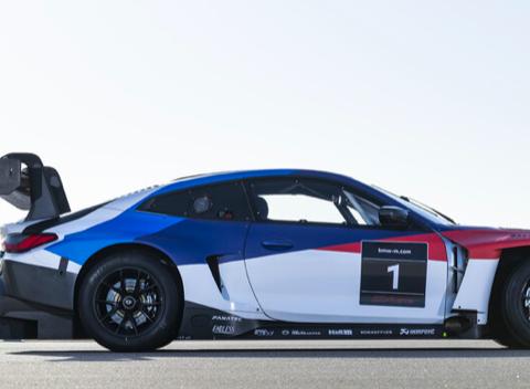 参与更多测试和比赛,宝马M4 GT3赛车亮相