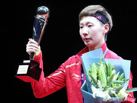 刘诗雯式的11-0夺冠,中国女乒与日本女乒P卡比拼,王曼昱完胜