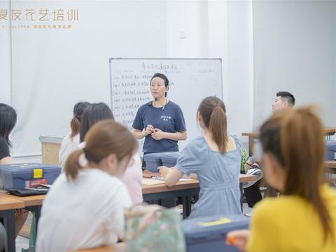 探访良友花艺培训学院新校区 变的是环境 不变的是初心