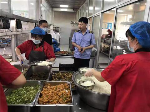 河南省驻马店市上蔡县市场监督管理局全力护航高考食品安全
