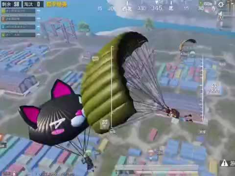 小明哥:跳伞G港钢枪撞两队,残血状态清空G港