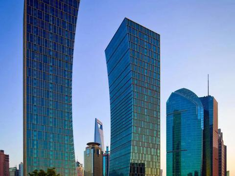 中国农行及中国建行总部——双辉大厦,上海陆家嘴地标建筑!