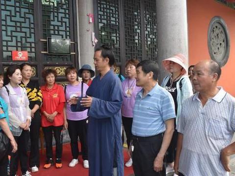 霞浦积石天后宫董事长陈月梅 率团参访浙江义乌城隍庙