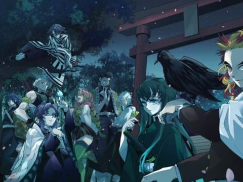 《鬼灭之刃:无限列车》票房成为日本动漫第一,连杨幂都爱看!
