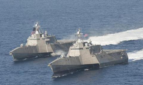 美国的濒海战斗舰的作用