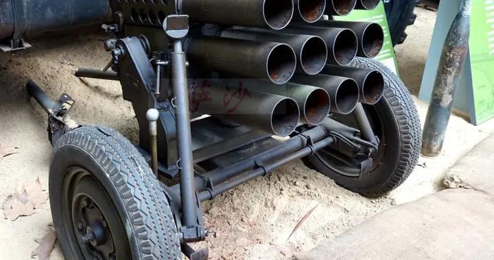 游击队手中的超级杀器63式107毫米火箭炮:萨沙的兵器图谱第222期