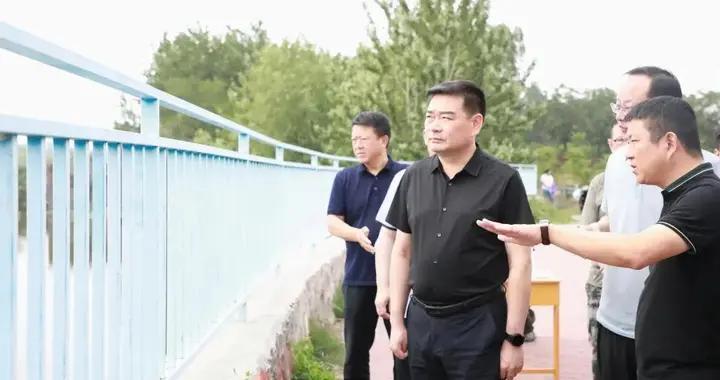 又到防汛抗旱、夏收夏种关键时期,代区长郭涛这样要求......