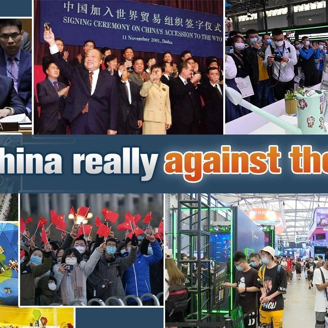 "CGTN时评   中国是否在""逆流而动""?"