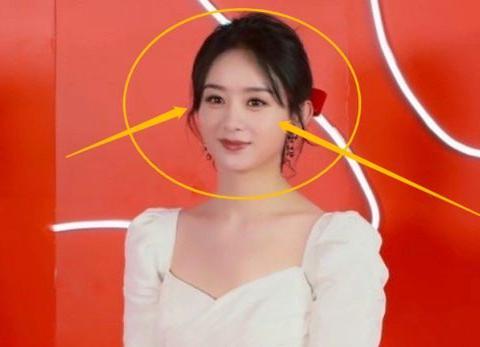 赵丽颖白色公主裙生图,腰围令人羡慕,和杨幂的风格越来越相似