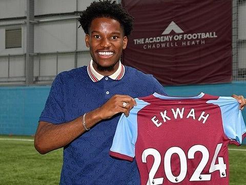 官方:西汉姆签下切尔西19岁后腰艾克瓦-伊林姆比