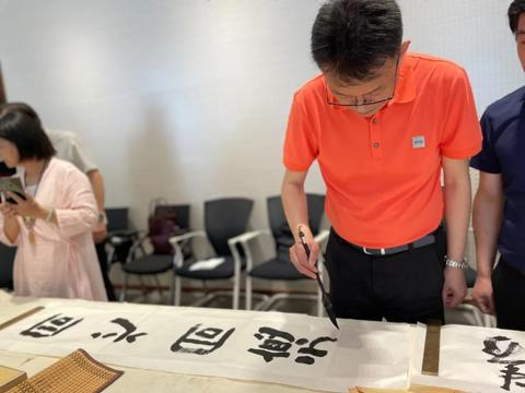 武昌区统一战线书画家庆祝中国共产党成立100周年书画创作笔会