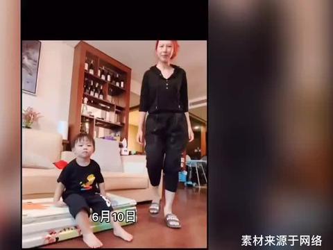 蔡少芬与2岁儿子同框,素颜出镜显沧桑,脸色蜡黄眼窝微微凹陷