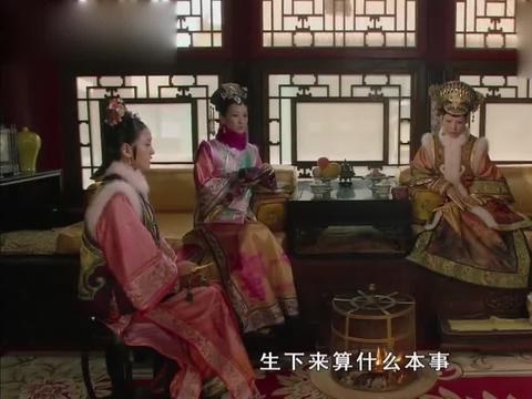 甄嬛传:皇后一党起内讧,祺贵人将陵容的嗓子毒哑,这下没恩宠了