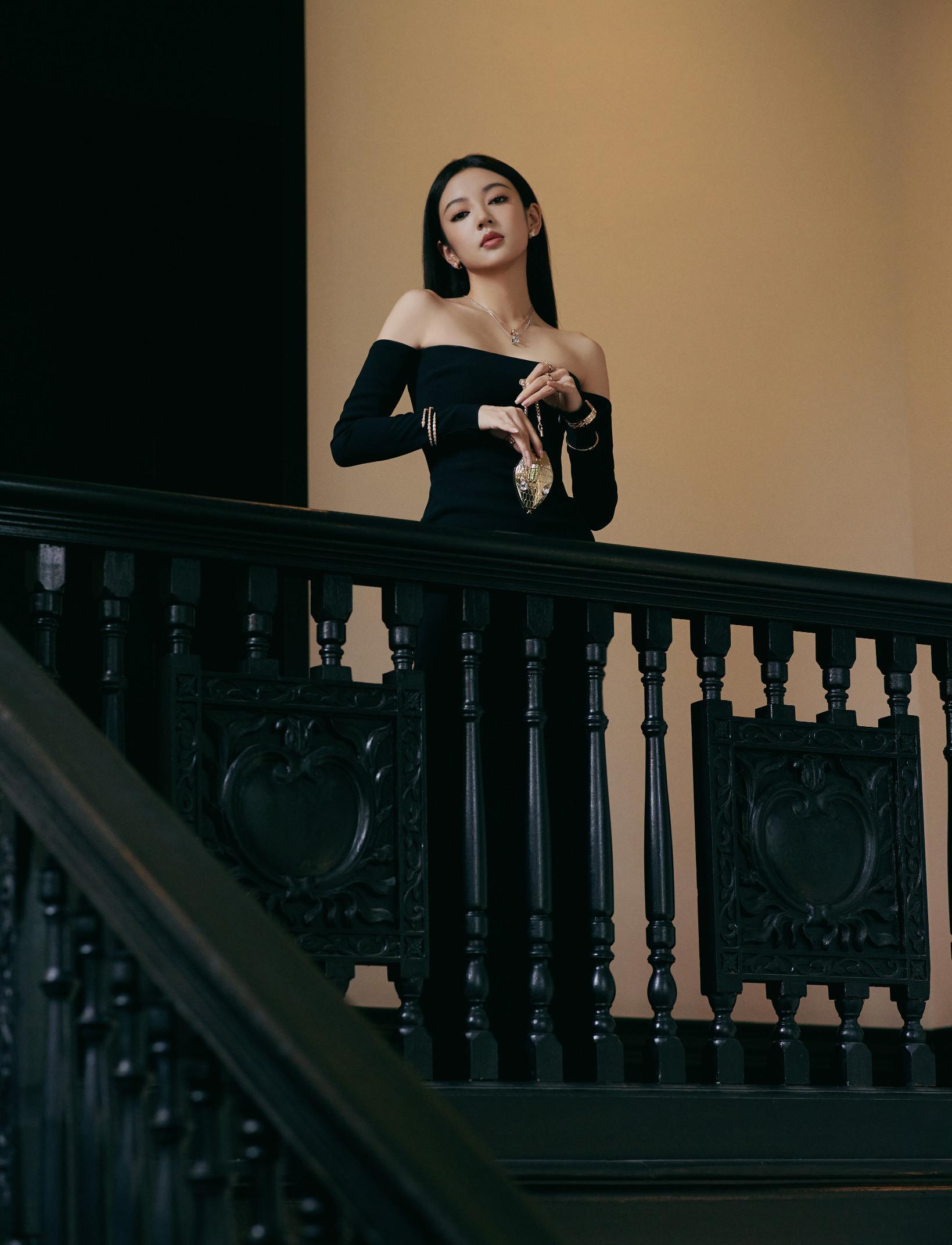 欢娱影视演员@何瑞贤 今日出席BVLGRI宝格丽品牌开幕活动