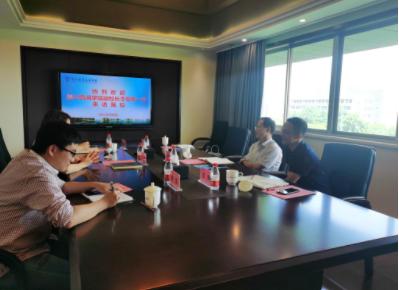 嘉兴南湖学院副校长李泉明一行赴杭州职业技术学院考察交流