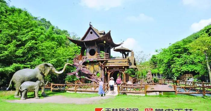 """陆川县金兰湾休闲农庄:山谷中的浪漫""""花乡"""""""