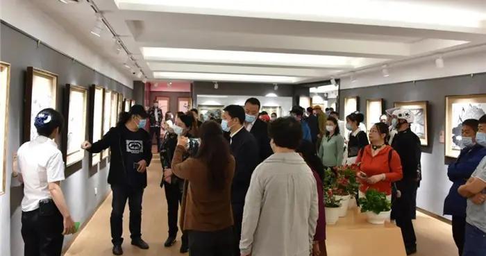 白城市洮北区举办庆祝建党100周年书画艺术精品展