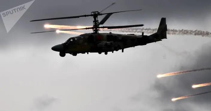 俄卡-52M直升机获新型制导武器系统