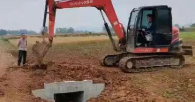 邓州市南水北调和移民服务中心 抓实临时用地返还复垦