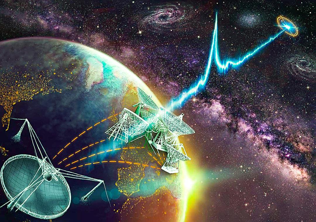 新射电望远镜搜寻1年,接收到535个强烈信号,究竟是谁发出的?