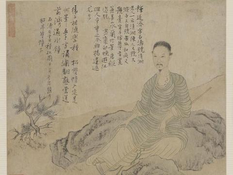 上海齐白石书画院院长-少白汤发周分享:全球存世最早的自画像