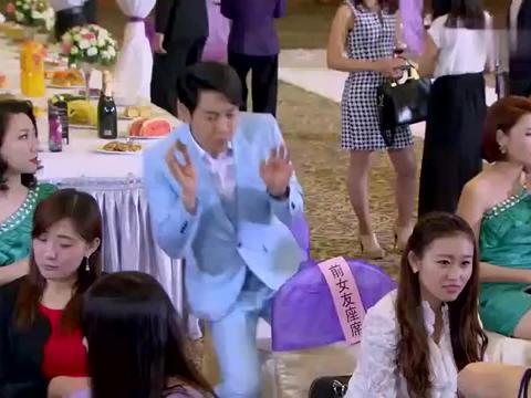 精心打扮去参加前男友婚礼,结果跟新郎其他的前女友撞衫了!