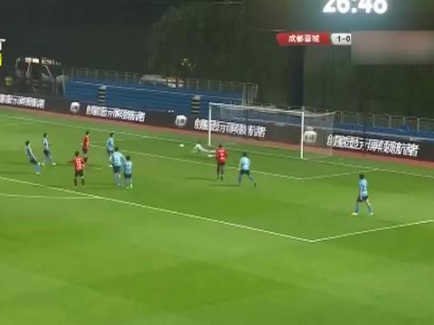 中甲联赛:刘若钒一击致命,成都蓉城立克南通支云