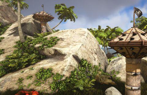Steam沙盒游戏排行,《ATLAS》防御塔攻守兼备很强势