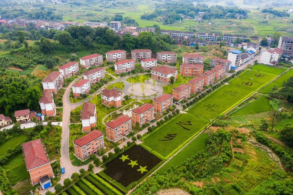 大竹县九银村党群服务中心空间利用改造 提升群众满意度