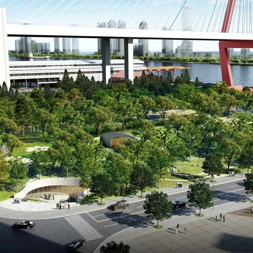 杨浦这座在建城市公园有新进展