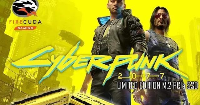 《赛博朋克2077》限量版固态硬盘亮相 很黄