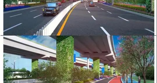 效果图美呆了!昆安高速下层道路将提升,投资7.8亿