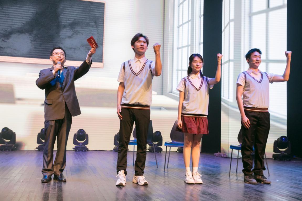 讲述松江英烈故事,上海视觉艺术学院举行专场诵读会