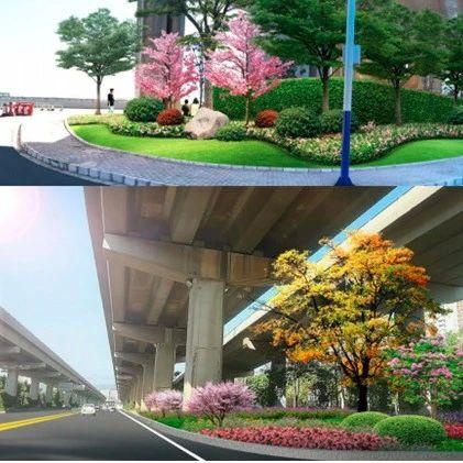 昆安高速下层道路将提升改造,效果图亮相