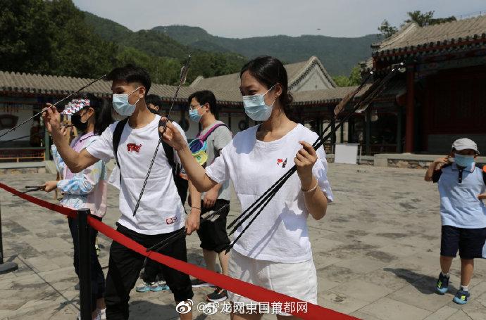 北京市属公园端午首日迎客10.5万人次,数千人走进革命旧址感受红色精神
