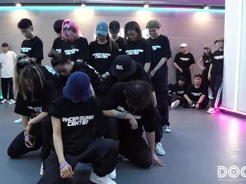 郑州DOC舞者中心,街舞老师进修班,大杂烩队,一晚上的作品