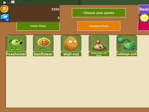 ROBLOX 虚拟世界 游戏 植物大战僵尸 三发豌豆射手大招