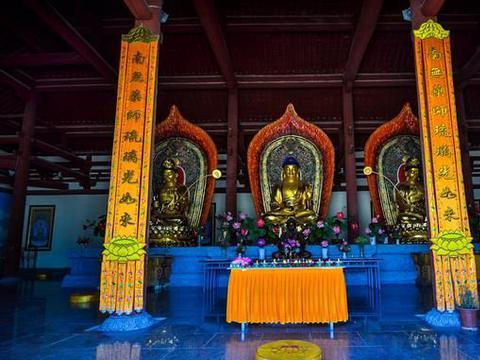 我国最强寺庙,建成于西晋,是西天中如来佛祖说法传经的地方