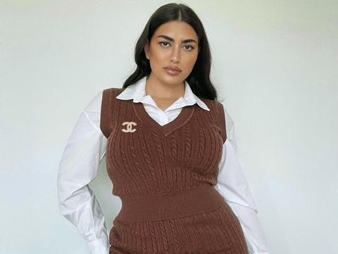 160斤的捷克美女,曾经是难民,通过努力逆袭成为了知名模特