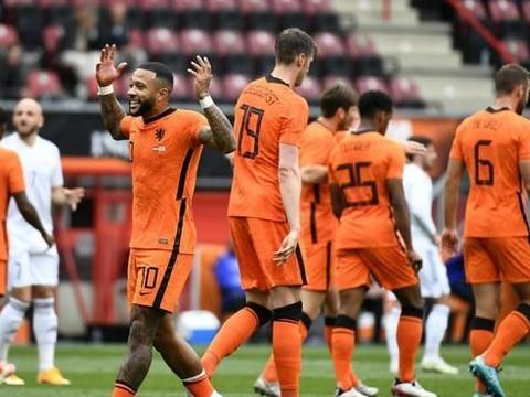 欧洲杯看台:荷兰vs乌克兰 范迪克落选 乌克兰平局多