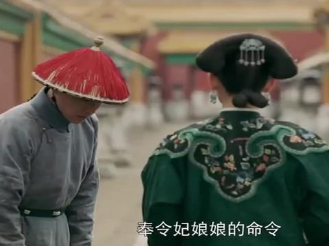 延禧攻略:令妃派人把尔晴绑到了先皇后遗像前
