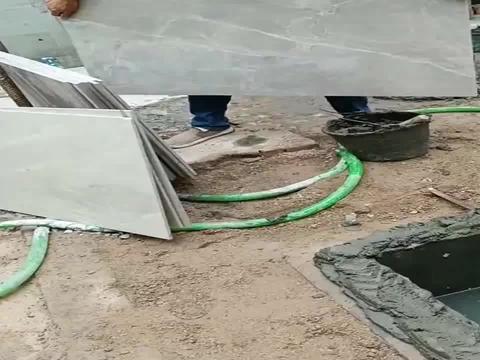 化粪池用地板砖来搞,第一次见,這是骗人的吧!