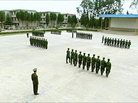 士兵突击:许三多给家人写信,成才机灵,已经是自己副班长了
