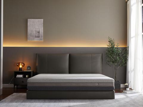 良好的睡眠体验,从拥有一个8H黑金刚超大口径弹簧减压床垫开始