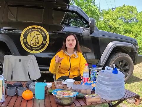 上海自驾1.5小时,湖州长兴免费露营地,房车可进溪畔可玩水烧烤