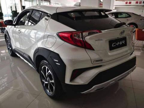 新款丰田CHR亮相,最大输出马力达171,搭配CVT变速箱