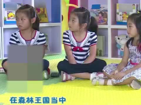 卡酷幼儿园:杰琪希望女神能陪自己上课,偶遇小熊姐妹,完成心愿